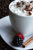 kaffemoca fotografering för bildbyråer