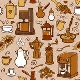 Kaffemodell Arkivbilder