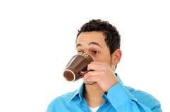 kaffemorgon Fotografering för Bildbyråer