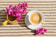 kaffemorgon Royaltyfri Bild