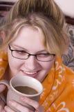 kaffemorgon royaltyfria foton