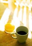 kaffemorgon Arkivbilder