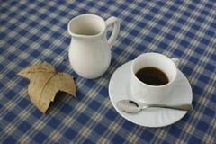kaffemorgon Arkivfoto