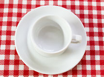 kaffeparwhite Royaltyfri Foto