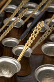 Kaffepotentiometer Stockbild