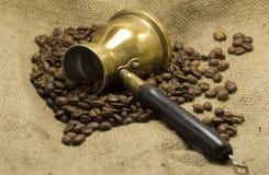 Kaffepotentiometer Stockbilder