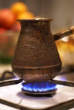 Kaffepotentiometer stockfotografie
