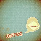 Kaffepotentiometer und Beschriftung Kaffee Lizenzfreies Stockfoto