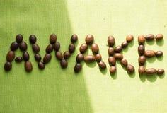 Kaffeprodukter Arkivbild