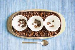 Kaffeprodukter Royaltyfri Foto