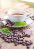 Kaffeprodukter, kaffebroms Royaltyfria Bilder