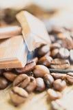 Kaffeprodukter, kaffebroms Royaltyfri Bild