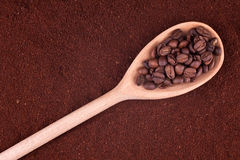 Kaffepuder Lizenzfreie Stockfotografie