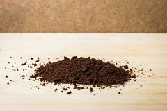 Kaffepulver Royaltyfri Bild