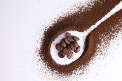 Kaffepulver Royaltyfria Foton