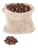 Kaffesäck Fotografering för Bildbyråer