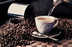 Kaffesamling 2 royaltyfri bild