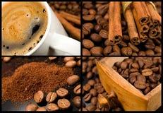 kaffesamling arkivfoton