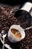 Kaffesamling 5 arkivfoto