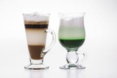 Kaffeserie Fotografering för Bildbyråer