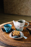 Kaffeserie Royaltyfri Bild
