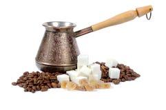 kaffeset Arkivbilder