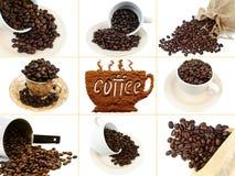 kaffeset Arkivfoto