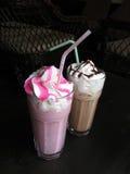 kaffeshakes arkivbilder
