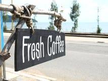 Kaffeshop#sea#beach#thai Royaltyfria Bilder