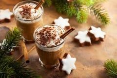 Kaffeskaka för jul arkivfoton