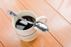 kaffesked Arkivfoto