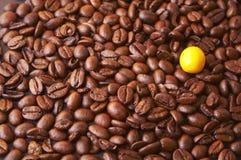 kaffeskillnaden gör Arkivfoto