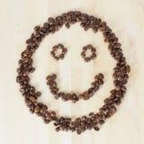 kaffesmiley Fotografering för Bildbyråer
