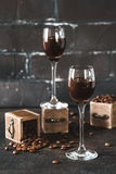 Kaffestarksprit Fotografering för Bildbyråer