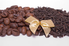 kaffetea Arkivfoto