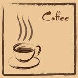 kaffetecken Royaltyfri Fotografi