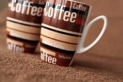 kaffetid Arkivbilder
