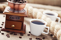 Kaffetid royaltyfri fotografi
