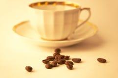 kaffetid Arkivbild
