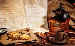 Kaffetidkonst Royaltyfri Bild