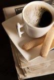 kaffetidning Arkivbild