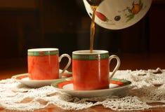 kaffeturk Fotografering för Bildbyråer