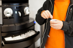 Kaffevaruautomat Arkivfoto