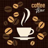 Kaffevektorillustration Royaltyfri Bild