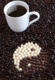 kaffezen royaltyfria bilder
