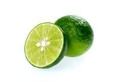 Kaffir lime cut Stock Photo