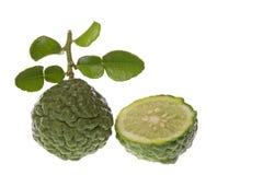 Kaffir Lime Macro Stock Image