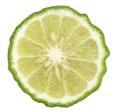 Kaffir lime slice Royalty Free Stock Photo