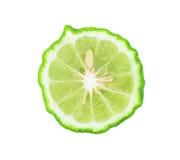 Kaffir lime slice Stock Photos