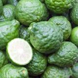 Kaffir limes. Stock Photo